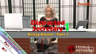 Distracted Secretary 1 - Krissy Koven Pt1 - Preview