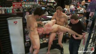 Hot Gay Boy Gang Banged In A Store