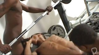 Lifting Weights And Cock Sucking