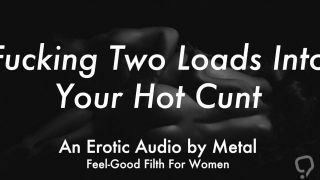 A Hard Doggystyle Fucking Leads to 2 Creampies (Erotic Audio for Women)