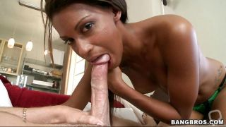 Staci Ellis Getting A Long White Cock