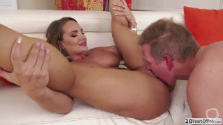 Free Porn Videos | Horny dude Mark Wood fucks busty Cali Carters wet pussy and tight ass