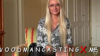 Amateur babe provides her tight ass to her casting agent
