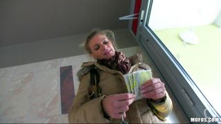 Blonde Accepts Money For A Fuck
