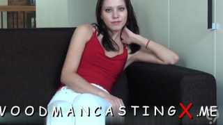 Ambitious brunette beauty dazzles with crazy sucking