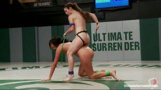 Lesbian Chicks Wrestling For Supremacy