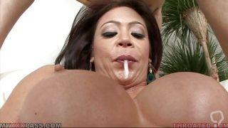 Big Tits Mia Lelani Swallowing A Cock