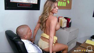 Hot Blonde Fucks Her Boss