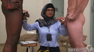 Arab hard fuck and anal creampie Black vs White My Ultimate Dick Challenge