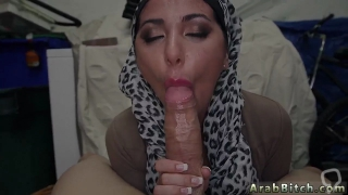 Arab lady first time Fucked her real rock hard and sent her on the way