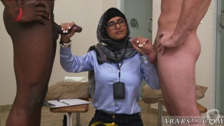 Arab punish Black vs White My Ultimate Dick Challenge