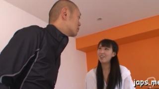 Aroused asian floosy yuuki itano endures hard sex