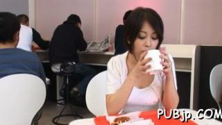 Aroused idol saki ootsuka gets poon tang banged