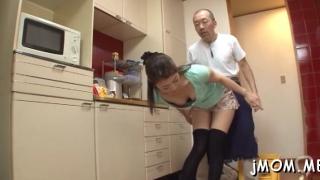 Aroused maki hokujo first time vagina fucked