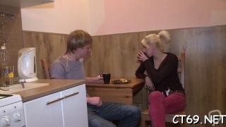 Aroused  russian honey sabrina endures hard sex
