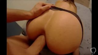 Amateur big ass wife bigcock anal creampie and gaping