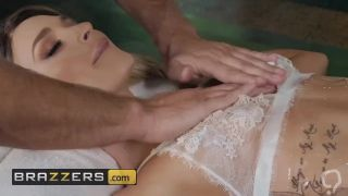 Brazzers - Emma Gets All Oiled Up and throat fucked