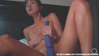 asian whore with tons of toys.... segment