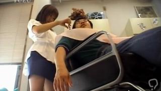 Astonishing nipponese sweetie chiharu okuna exposes curves during sex