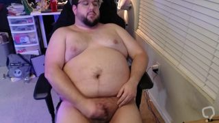 Shooting my load after a long edging session, nipple play