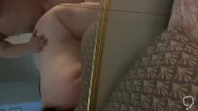 Fucking Wifes sexy ass in mirror