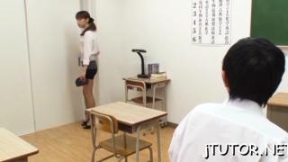 Awesome minx riho hasegawa finds a big packing