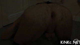 babe chokes and kicks slave clip film 1
