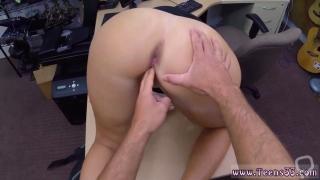 Big ass milf solo and tickling handjob threesome PawnShop Confession
