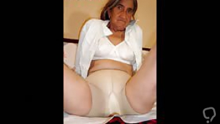 Amateur pictures collection with horny latin grandmas photos
