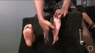 Soft Ebony Tickling