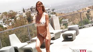 Milf gets analized by big black cock and swallows sperm in hi def