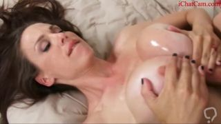 she loves big cock between her boobs - titty fuck pov