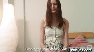 Fragile teen Lola Kishalak strips and talks about virginity