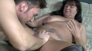 Naughty mature wife enjoys a good hard fucking