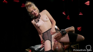 Black slave worships pussy to mistress