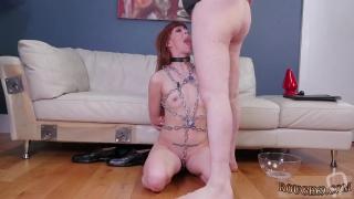 Blonde girl bondage and fetish xxx Slavemouth Alexa