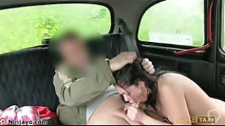 Ava gets in a fake taxi