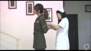 Nurse   Military Girl Bondage Photoshoot