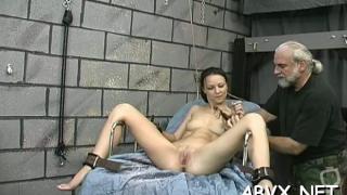 Busty fucked extreme bondage