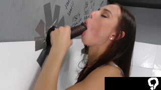 Aidra Fox Gets Creampied By Black Cocks - Gloryhole