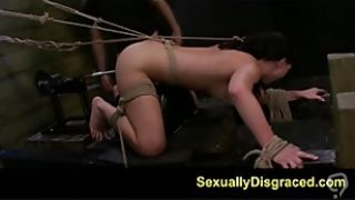 FetishNetwork Nikki hard slave training on sybian and fucking machine