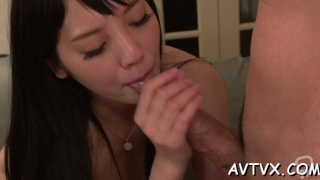 Dazzling japanese barely legal rei mizuna craving for a fuck