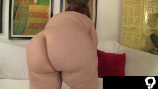 Dildo loving bbw pleasures her tight pussy