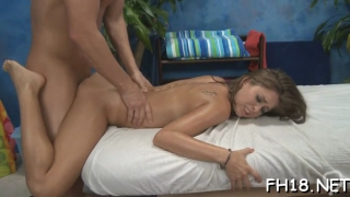 Dinky hungry adorable brunette riley reid