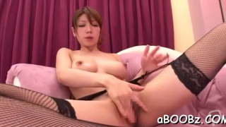 Dirty floosy yuuka minase who is often using a sextoy