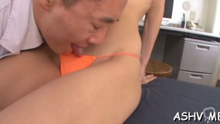 Dirty nipponese chick ena sakura fucked less