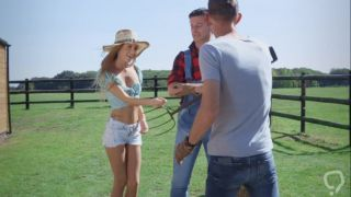 Strong fucking at the farm with country girl Rebecca Volpetti - XBabe video