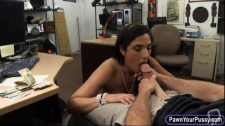 doggy style fucking in the pawn shop center