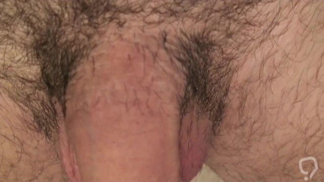 Playing with my uncut cock