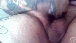 Pierced Cock Stroke N Cum Compilation
